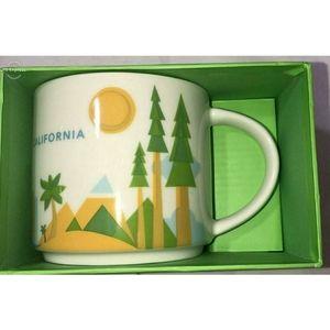 Starbucks California 'You Are Here' Mug